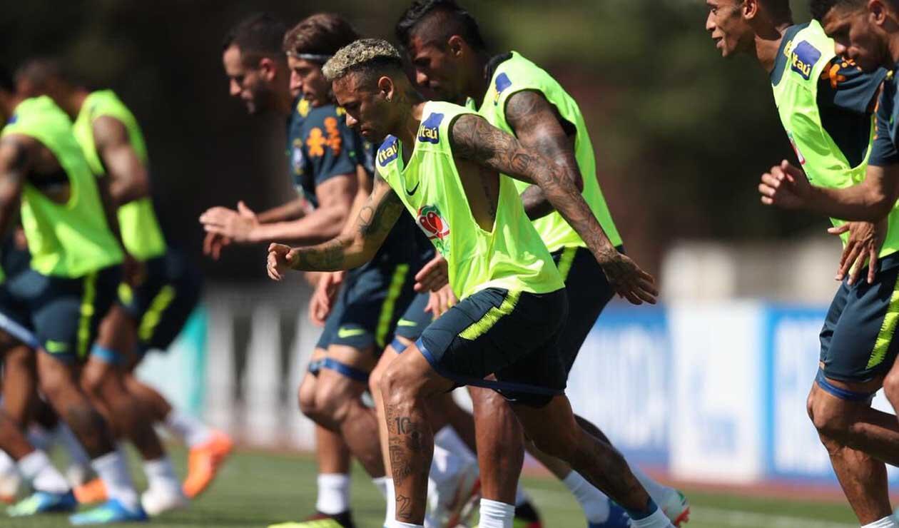 Neymar está recuperado para jugar ante Costa Rica