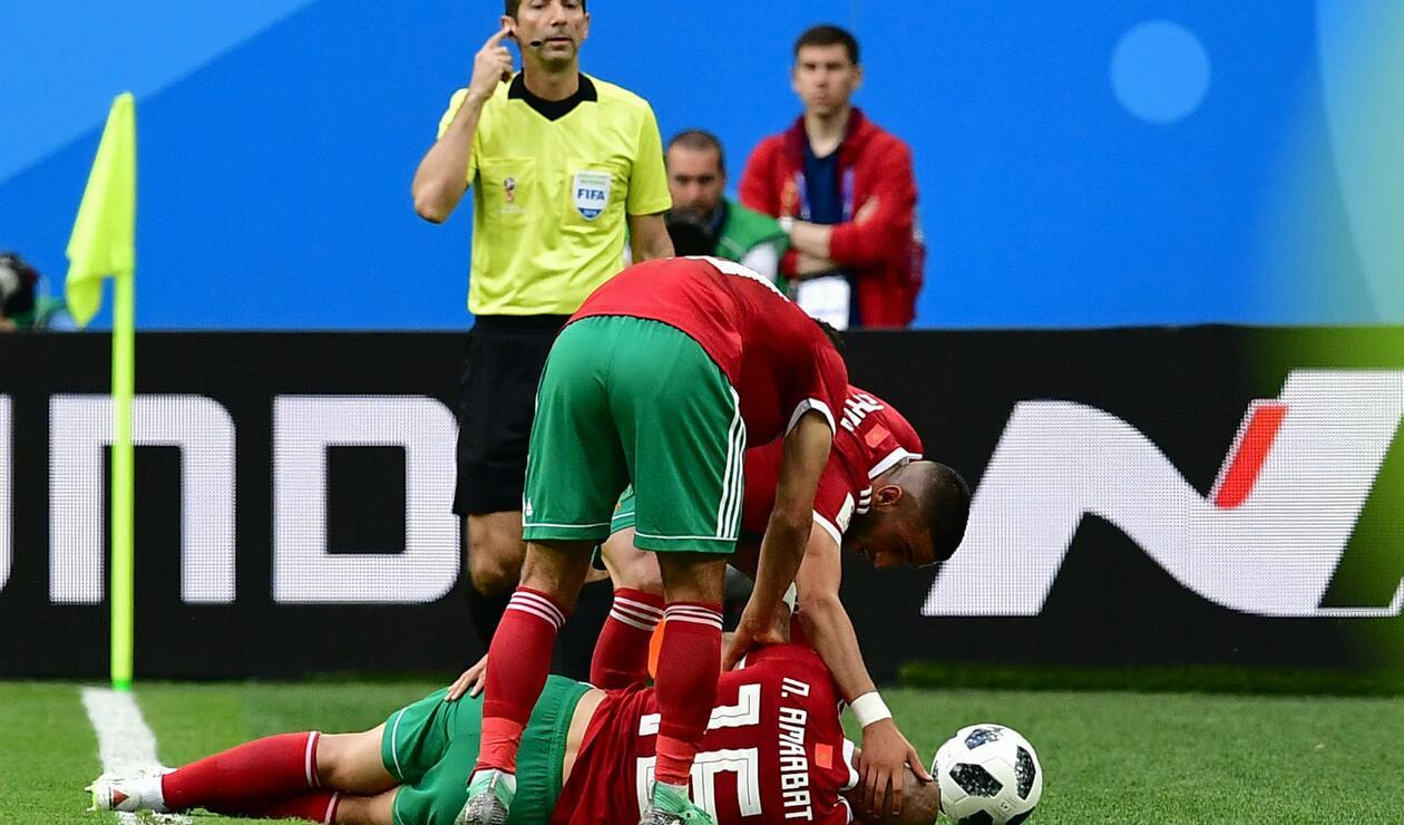 Marruecos en Rusia 2018