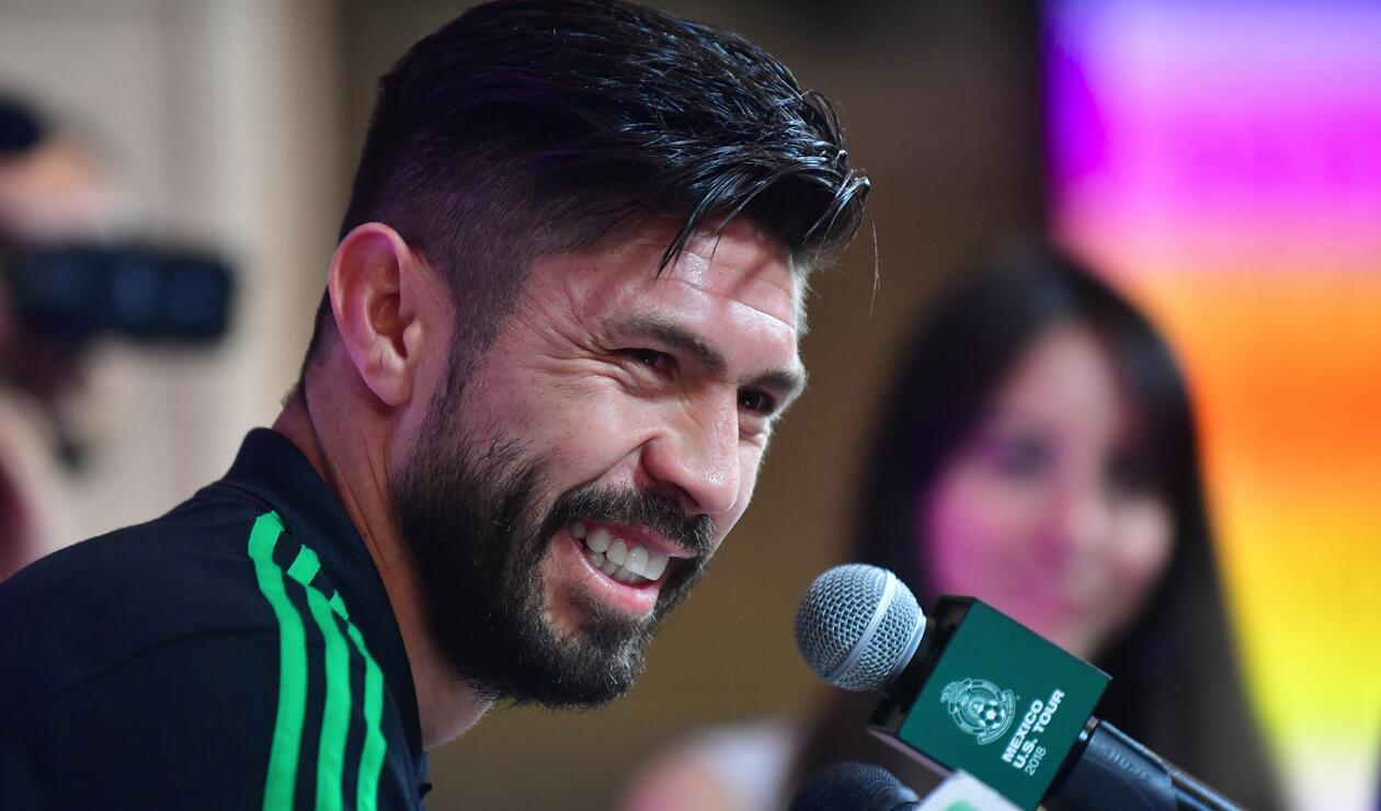 Oribe Peralta le dedicó un mensaje a Osorio y sacudió a Twitter