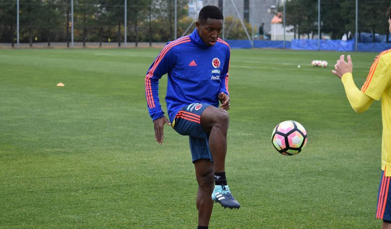 Óscar Murillo, jugador de la Selección Colombia
