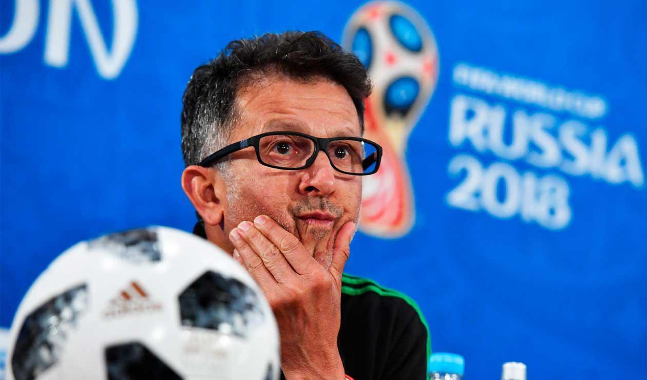 Juan Carlos Osorio buscará llevar a México a los cuartos de final de Rusia 2018