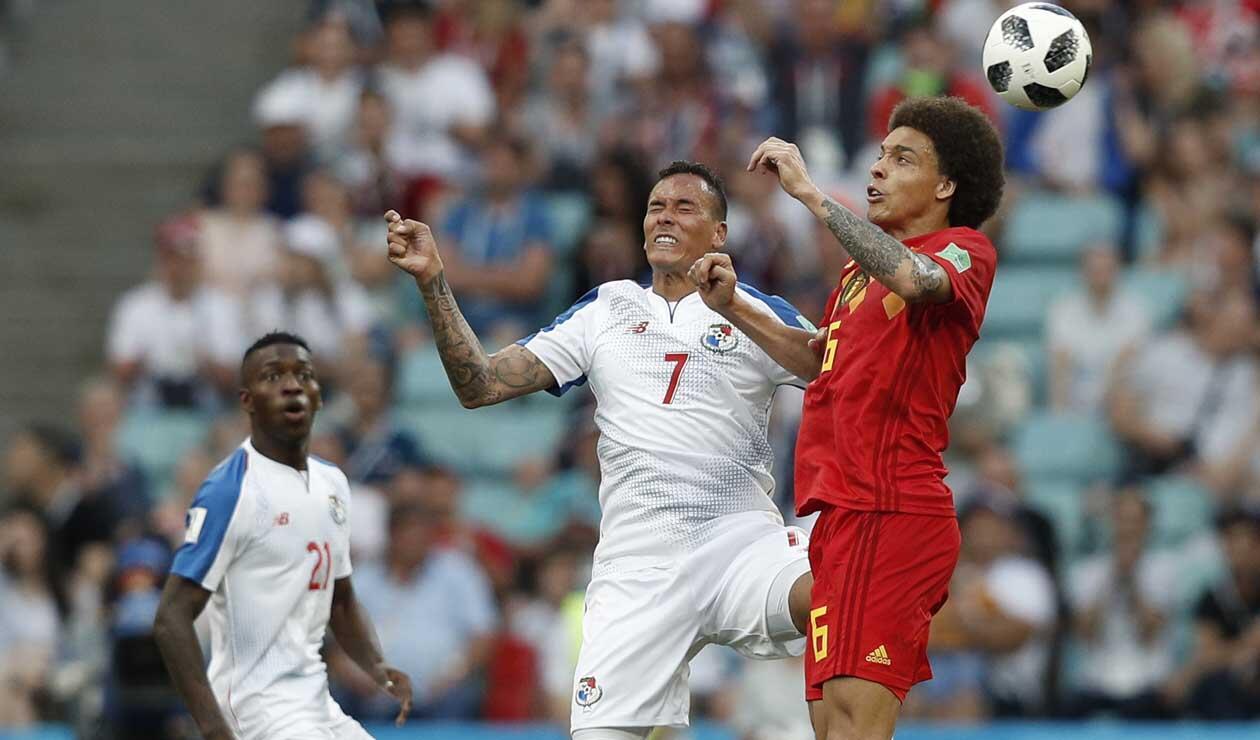Panamá perdió ante Bélgica en el Mundial de Rusia 2018