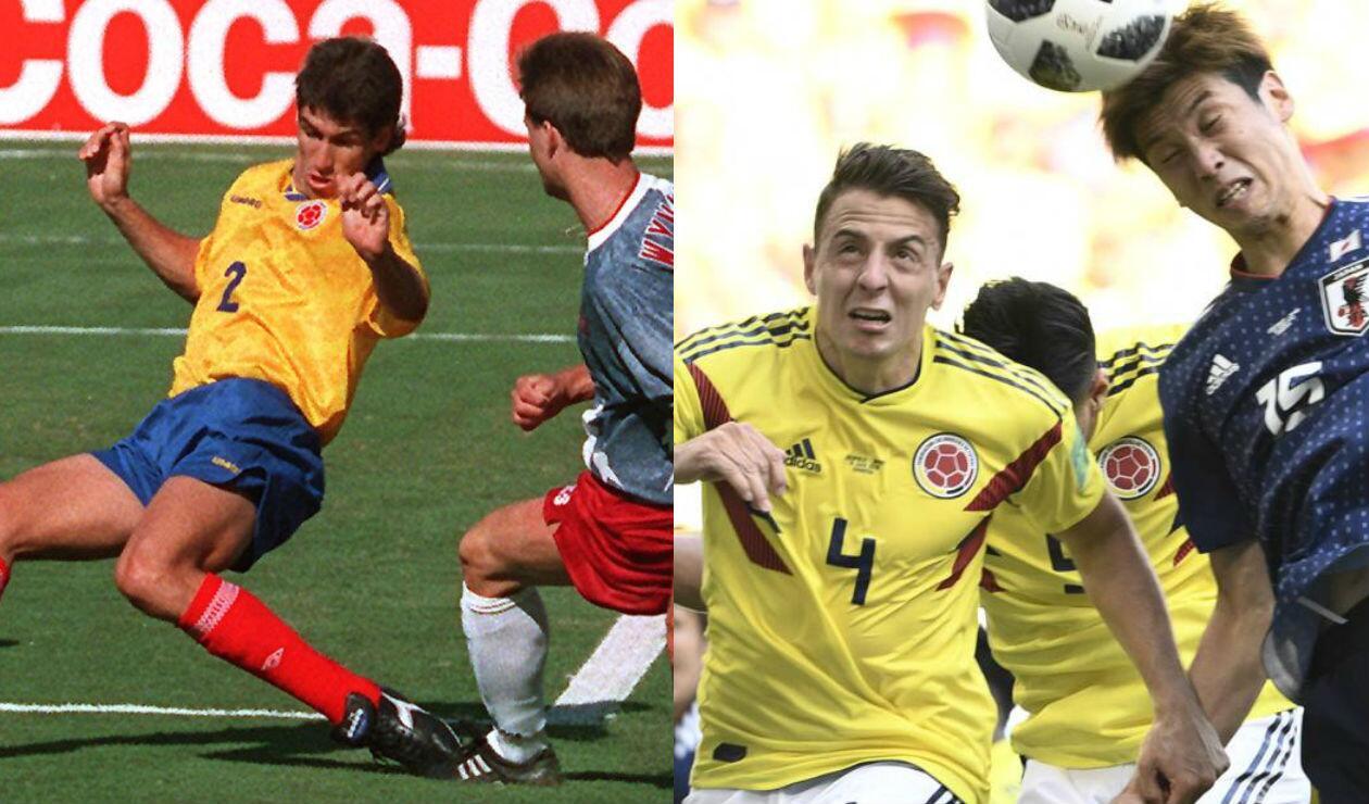 Partido entre Estados Unidos y Colombia en 1994 y encuentro donde la 'Tricolor' perdió ante Japón en su debut en Rusia 2018