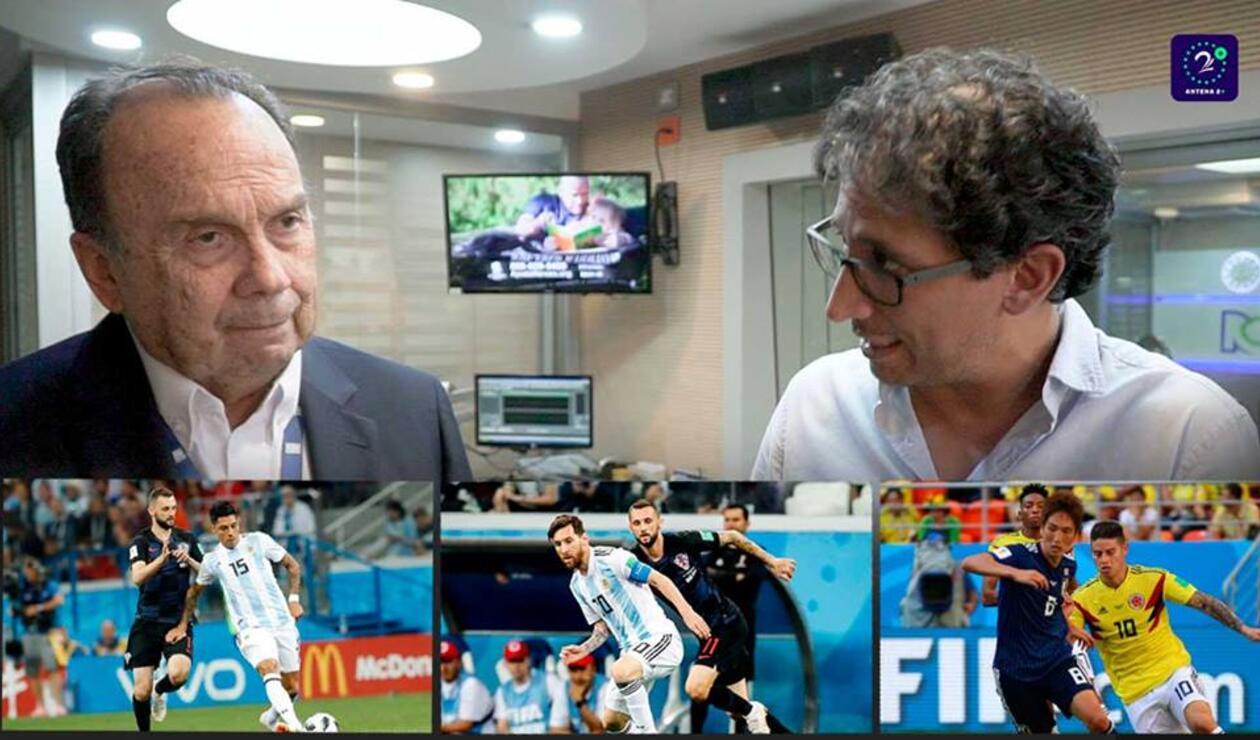 Hernán Peláez, inquieto por Messi, Argentina y Colombia