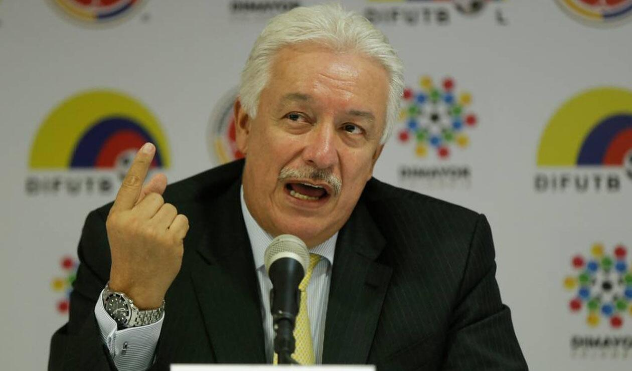Jorge Perdomo, expresidente de la Dimayor
