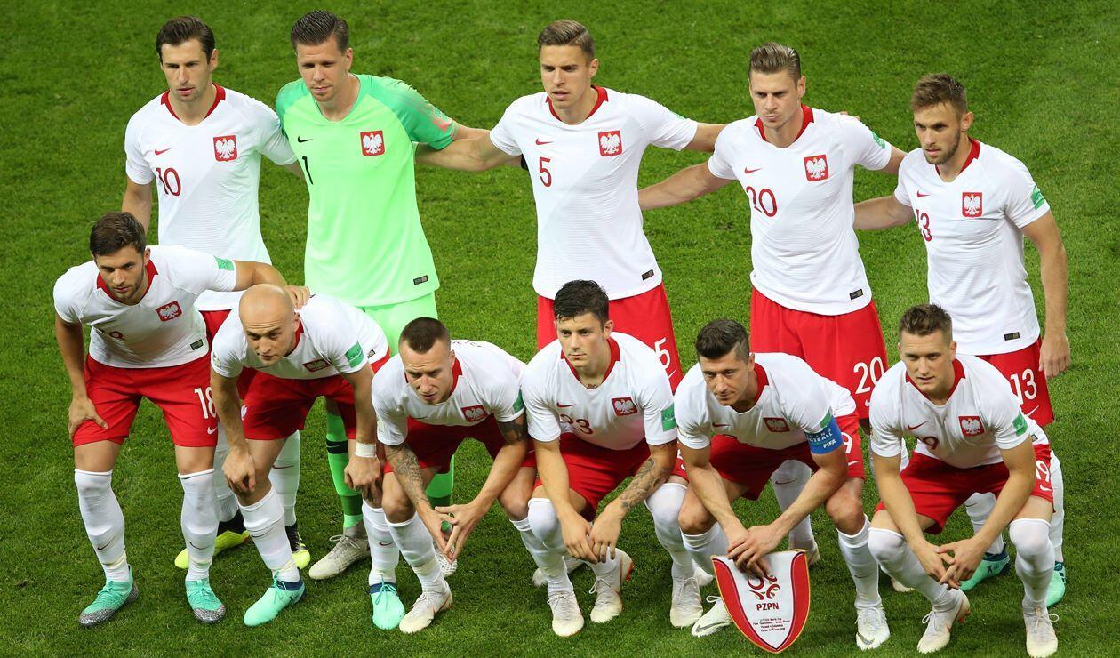 Polonia quedó eliminada del Mundial de Rusia