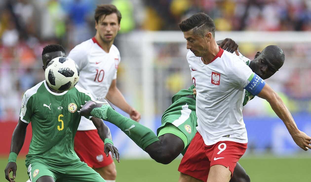 Polonia perdió ante Senegal en su debut mundialista