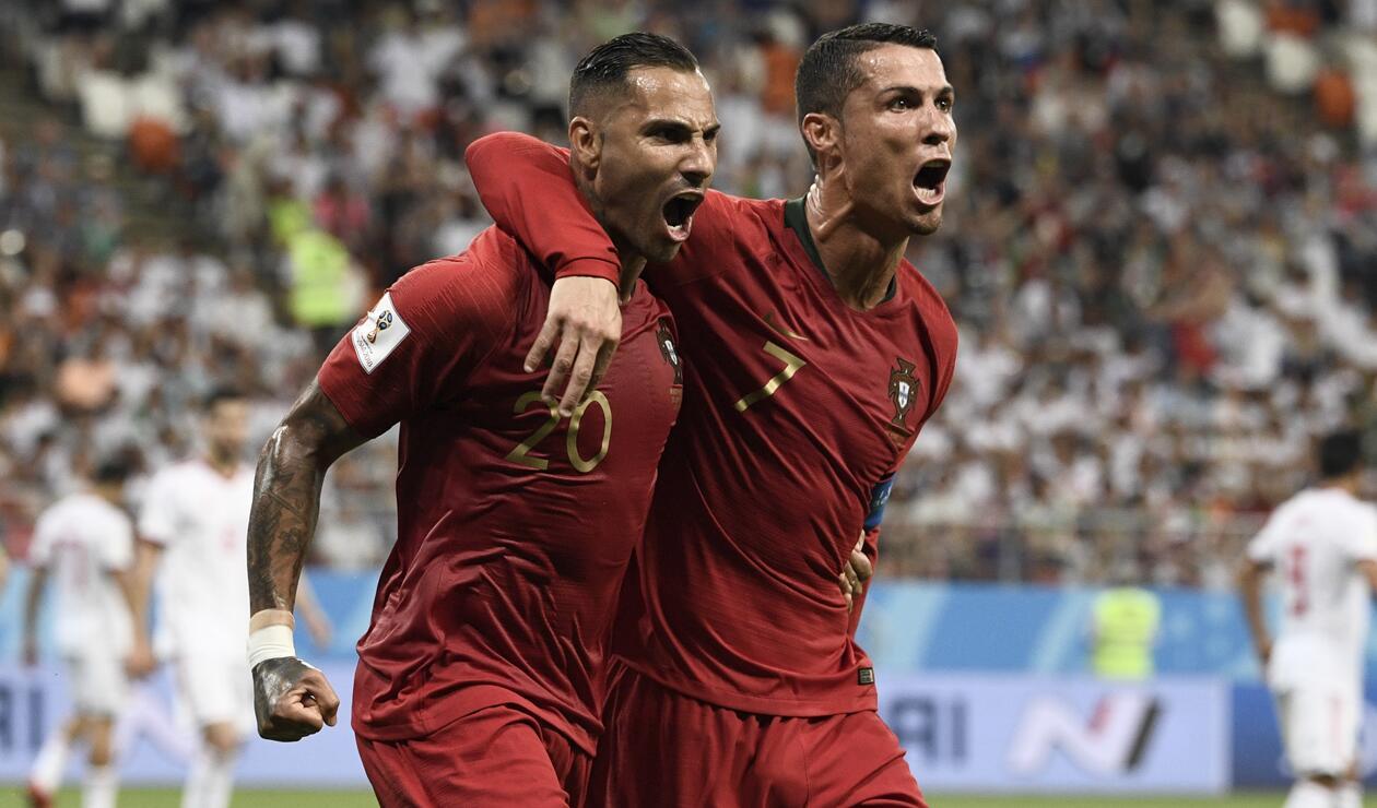 Ricardo Quaresma marcó el gol de Portugal ante Irán