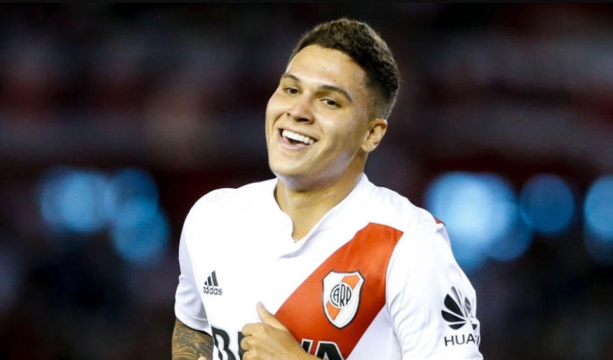Juan Fernando Quintero, jugador de River Plate