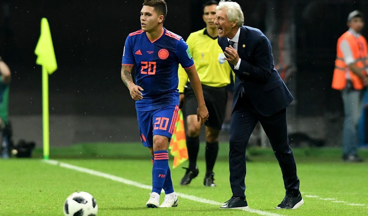 Juan Fernando Quintero es uno de los jugadores de confianza de José Pékerman