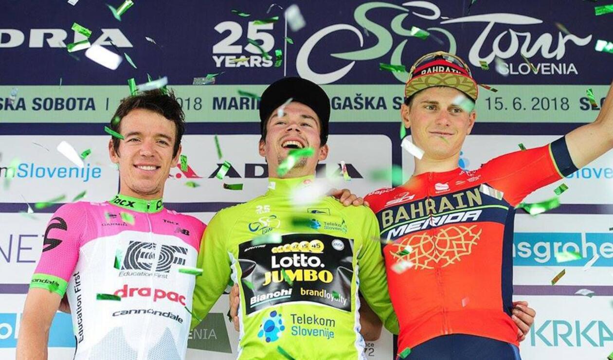 Rigoberto Urán subcampeón del Tour de Eslovenia
