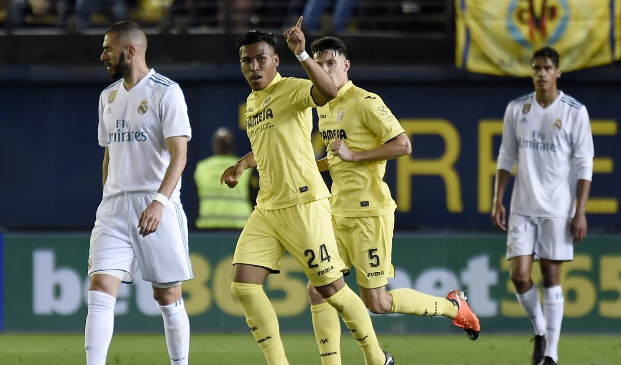 Roger Martínez le marcó gol al Real Madrid