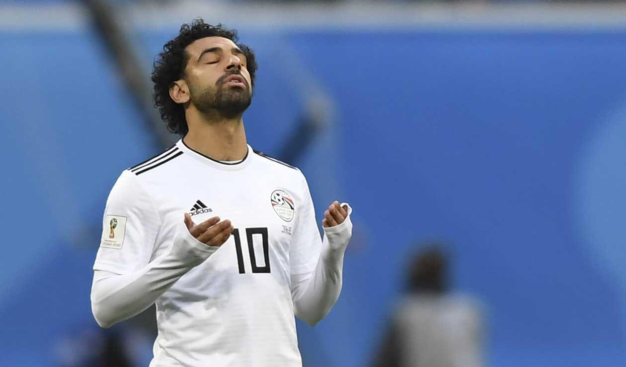 Mohamed Salah, jugador de Egipto