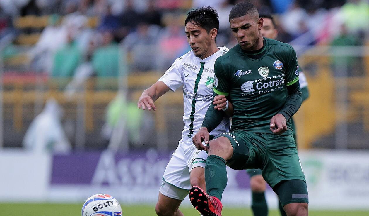 Sambueza y Diego Valoyes 2018