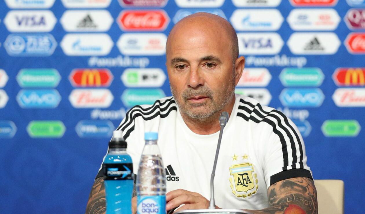 Jorge Sampaoli DT Argentina