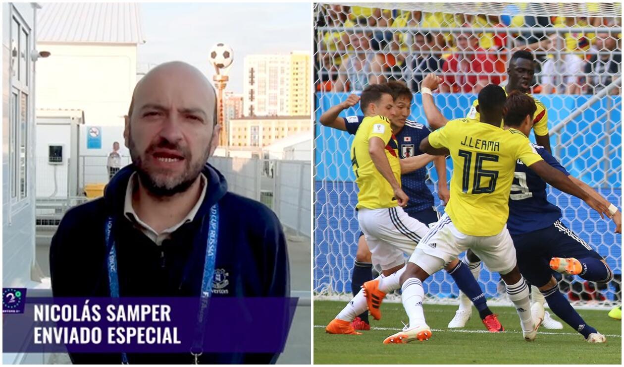 Nicolás Samper analizó la derrota de Colombia