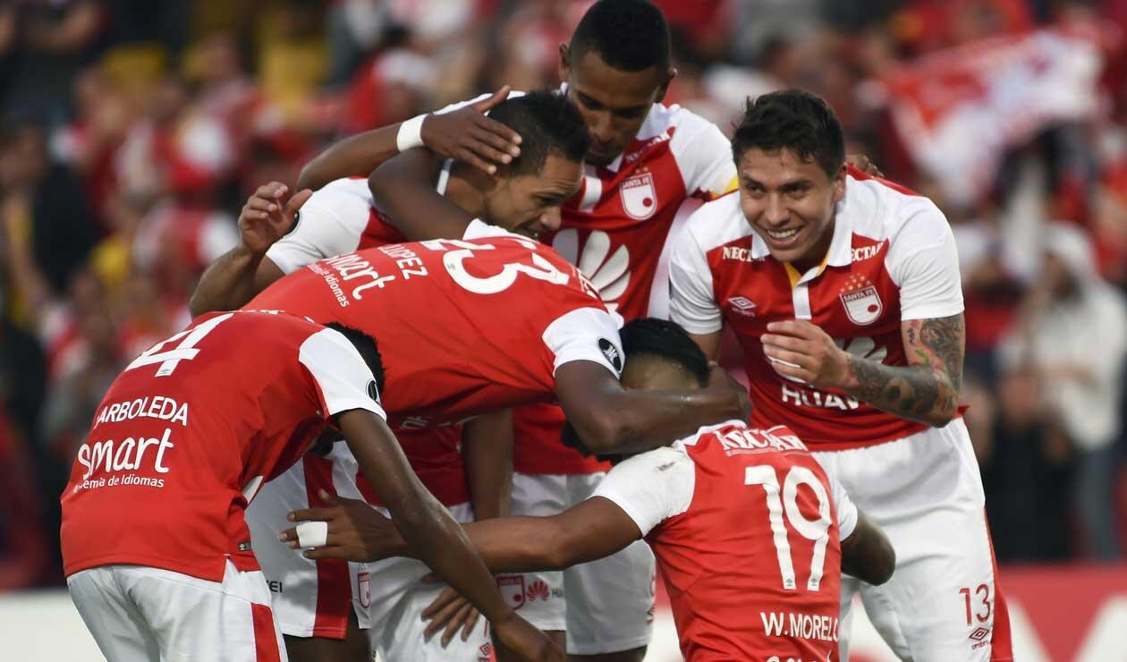 Independiente Santa Fe desea continuar con Wilson Morelo