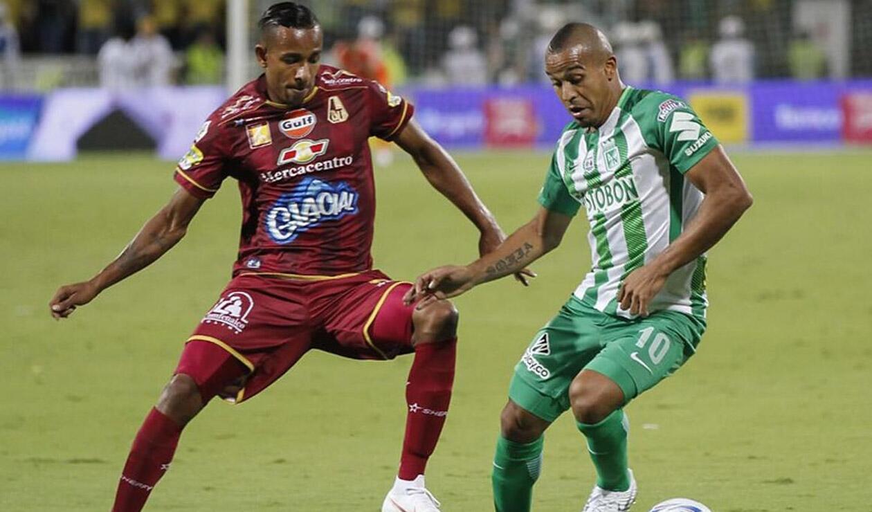 Sebastián Villa y Macnelly Torres