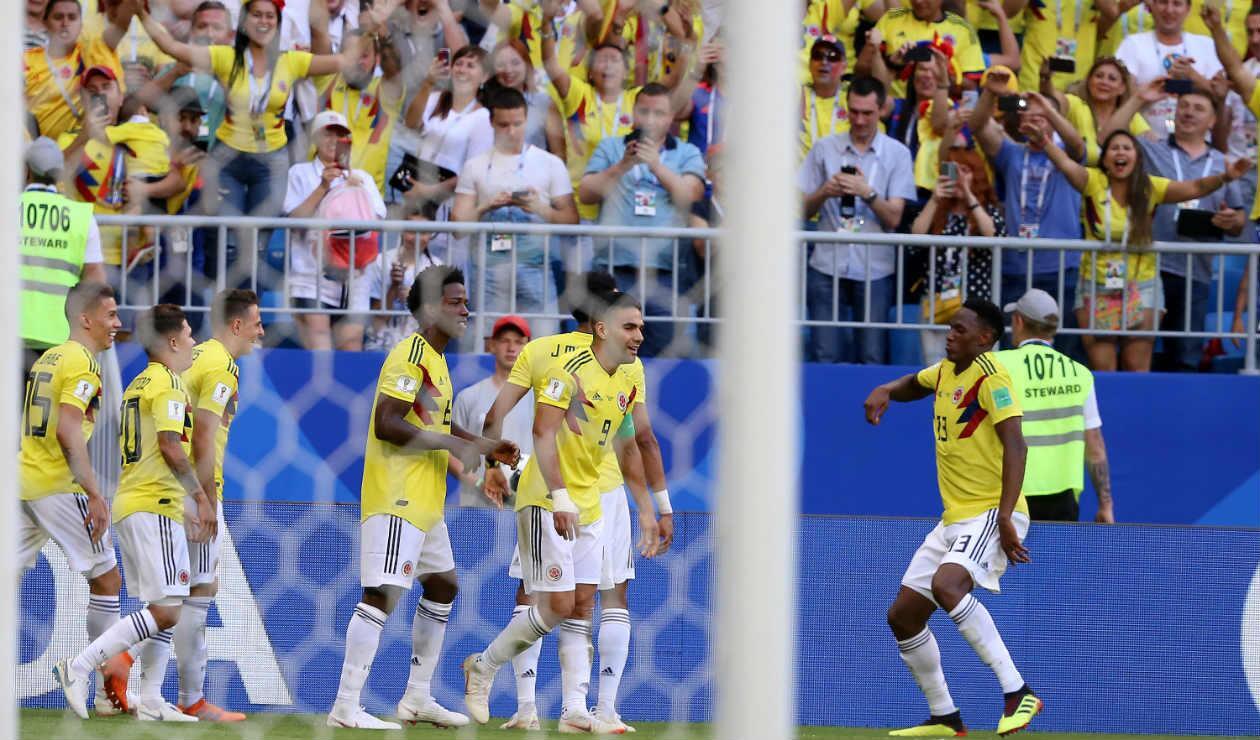 Colombia clasificó a octavos de final