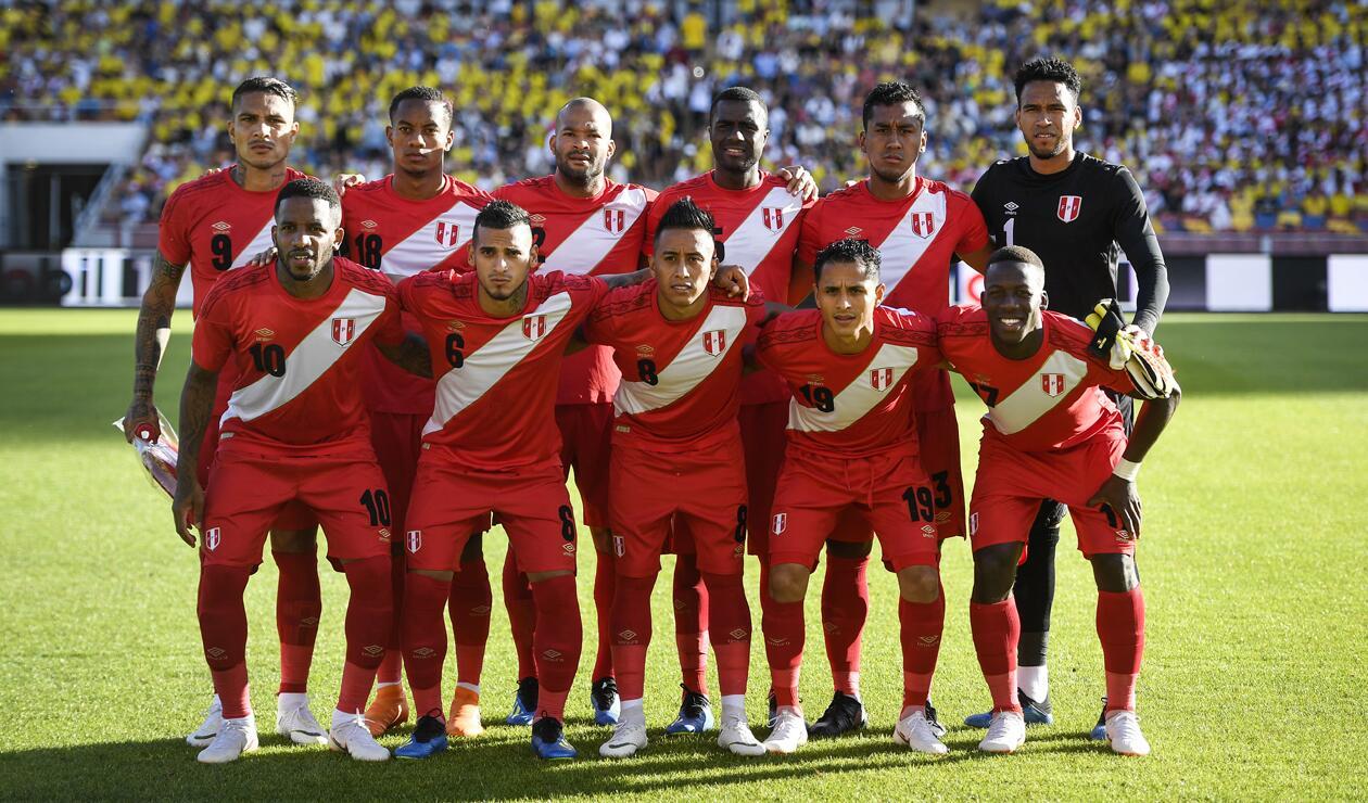 Selección de Perú en amistoso previo al inicio del Mundial Rusia 2018