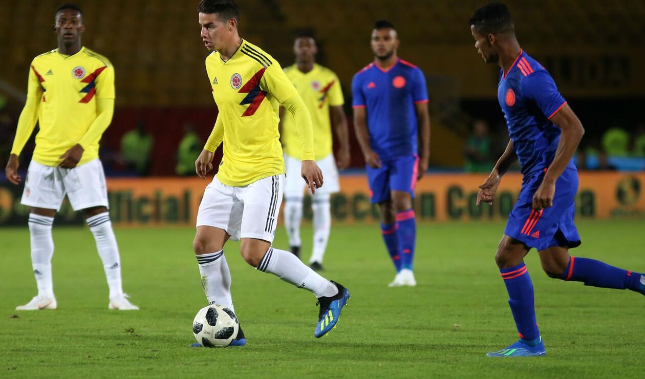 La Selección Colombia cuenta con James Rodríguez y Falcao para Rusia 2018