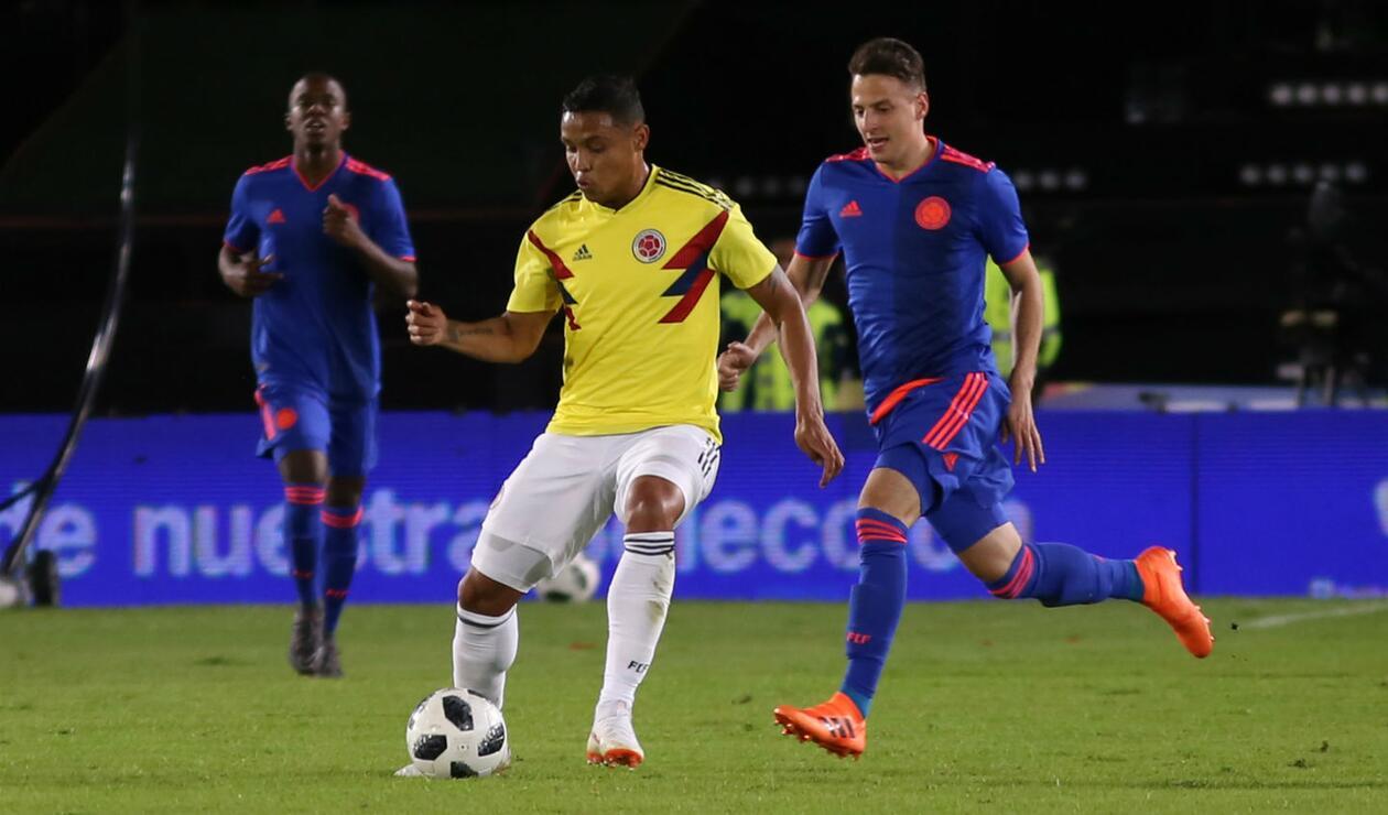 Selección Colombia en Bogotá