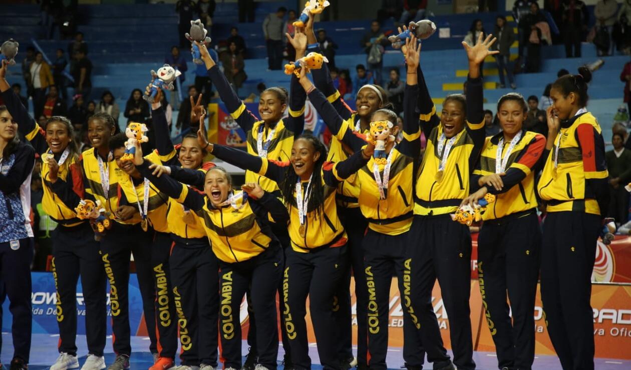 Colombia, campeón de los Juegos Suramericanos 2018