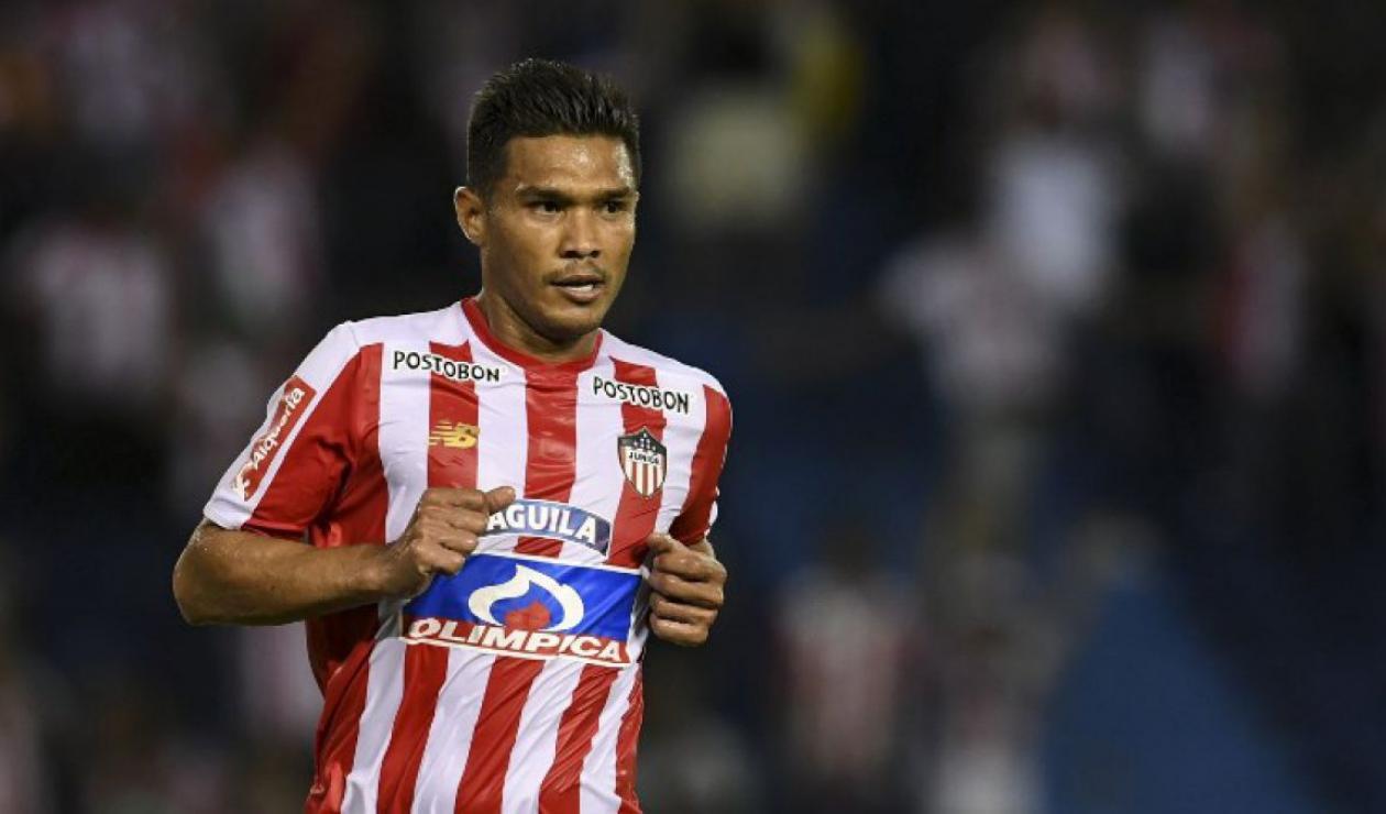 Teófilo Gutiérrez no tuvo un buen semestre con Junior de Barranquilla