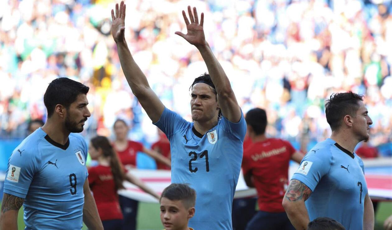Uruguay Suaréz Cavani Rodríguez vs Arabia