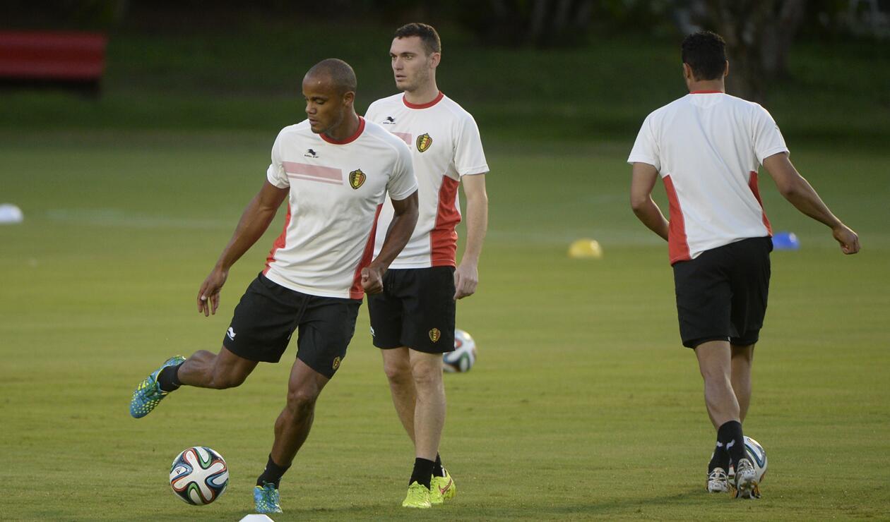 Vermaelen y Kompany descartados para el debut ante Panamá