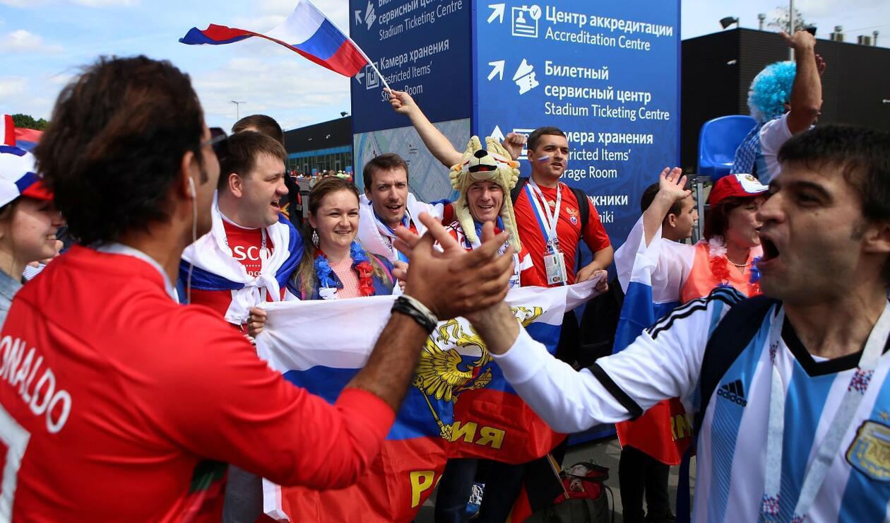 Hichas se reúnen en el estadio Luzhniki