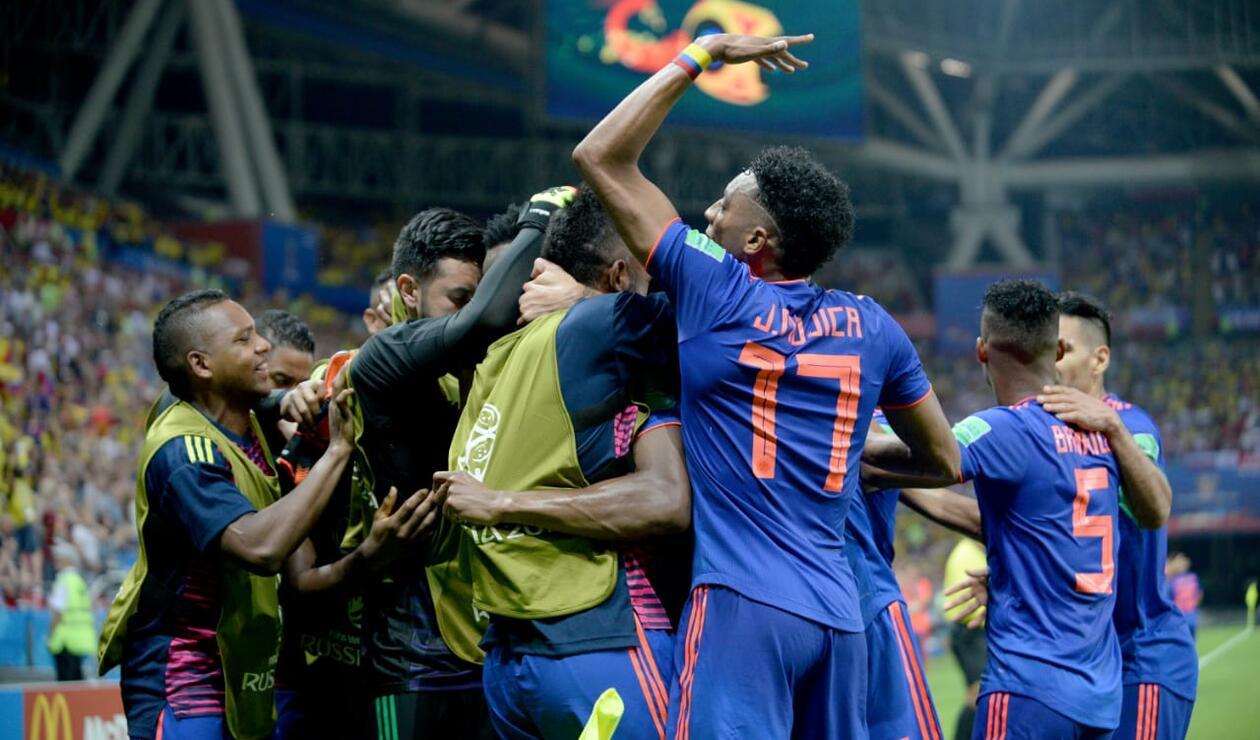 Colombia está a un triunfo de llegar a octavos de final en Rusia 2018