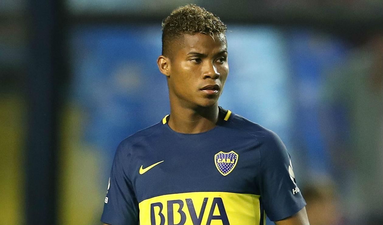 Wilmar Barrios, jugador colombiano de Boca Juniors