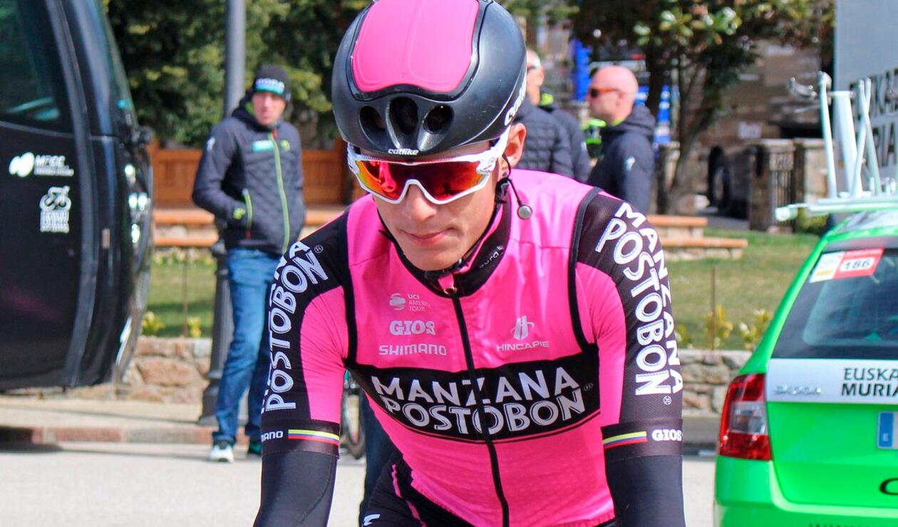 Wilmar Paredes, integrante del Manzana Postobón Team Continental Pro