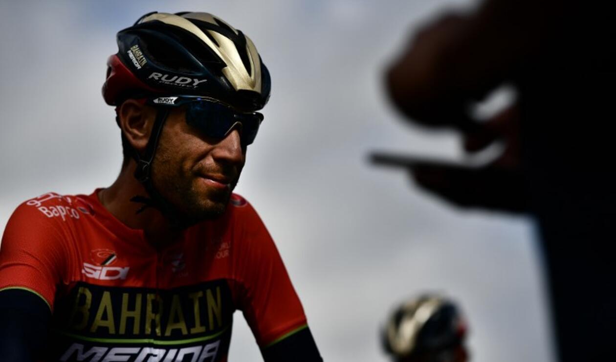 Vincenzo Nibali tras su caída en la etapa 12 del Tour de Francia