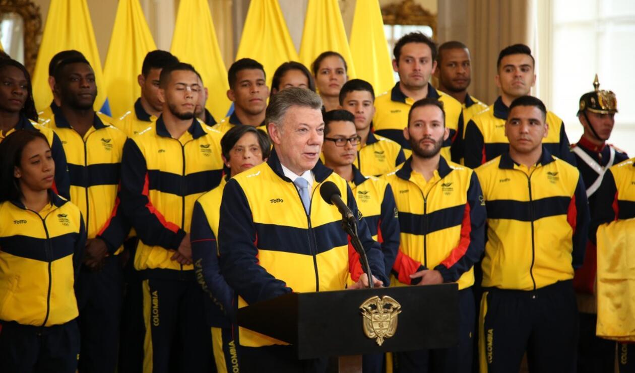 Evento del abanderado para los Juegos Centroamericanos