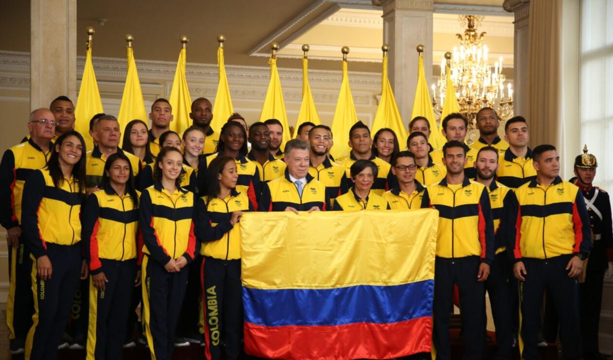 Delegación colombiana que disputará los Juegos Centroamericanos y del Caribe