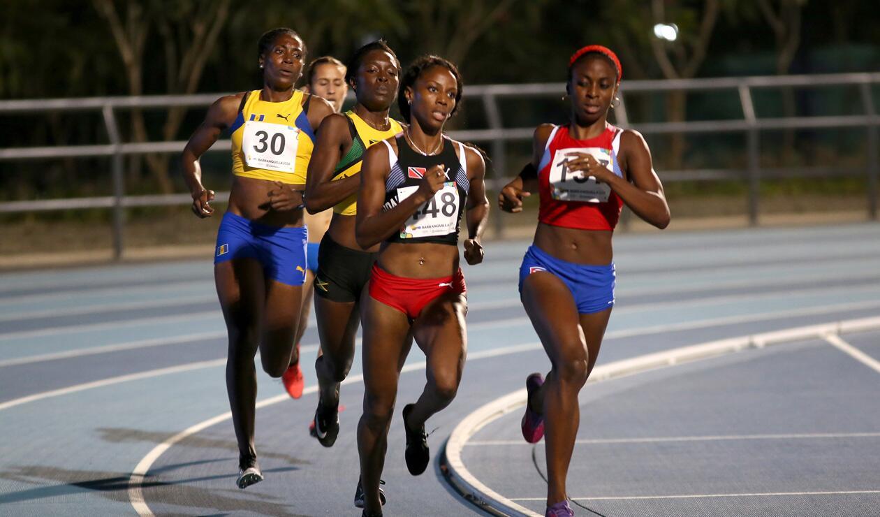 1000 metros damas Centroamericanos 2018