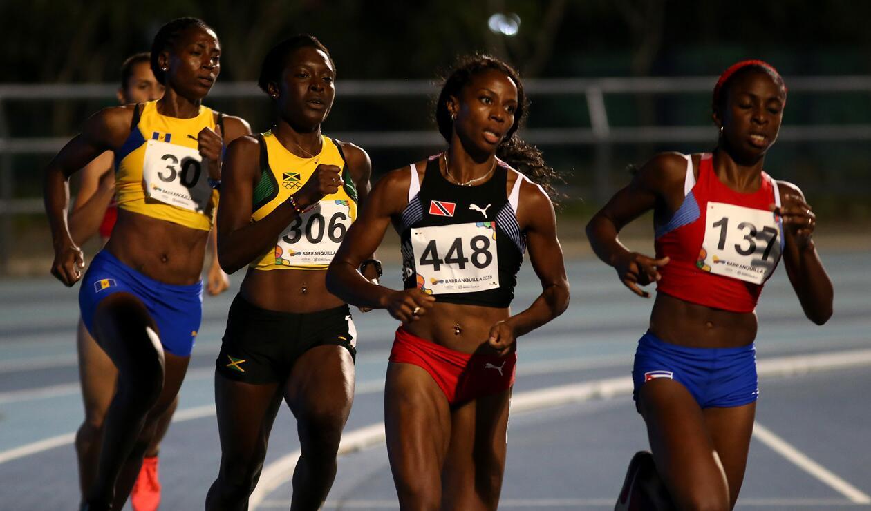 1000 metros damas Centroamericanos 2018 2