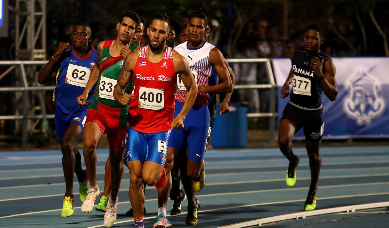 1000 metros varones Centroamericanos 2018