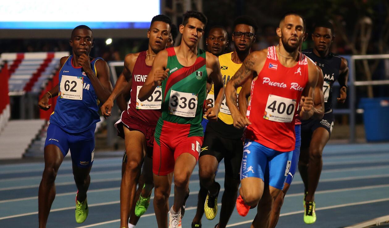 1000 metros varones Centroamericanos 2018 2