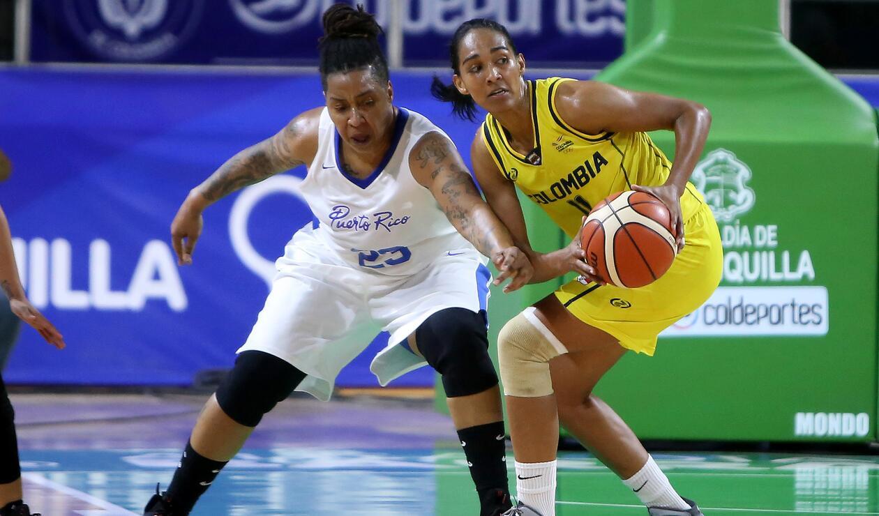Colombia Puerto Rico Baloncesto
