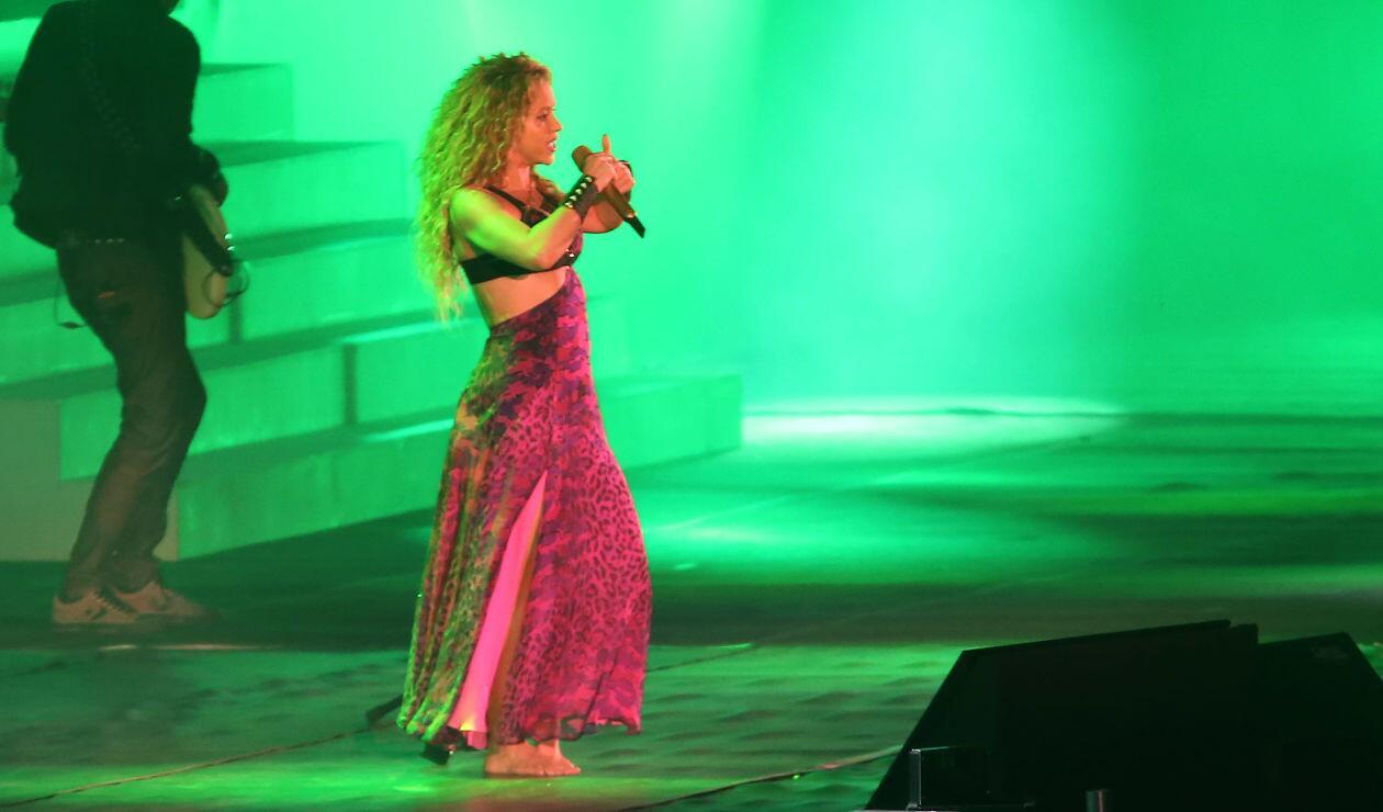 Shakira y su brilló en la inauguración de los Juegos Centroamericanos