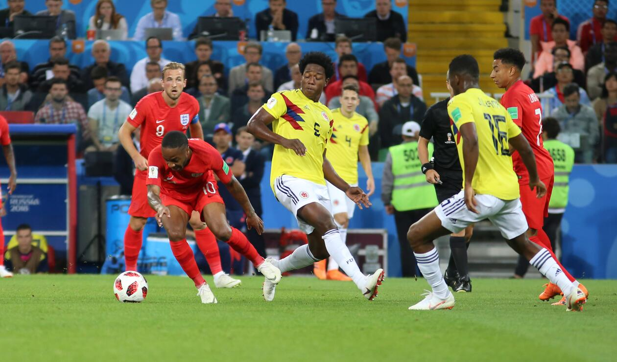 Colombia Inglaterra Rusia 2018