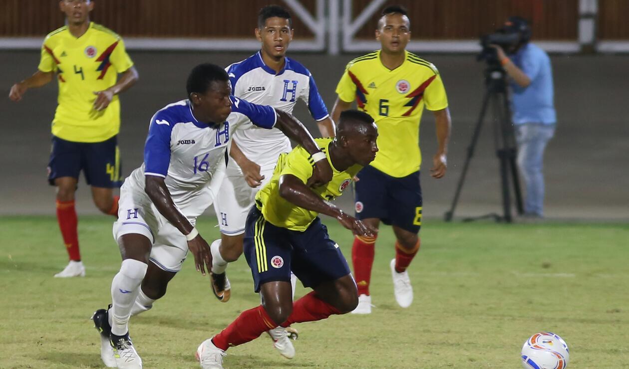 Colombia vs Honduras - Juegos Centroamericanos