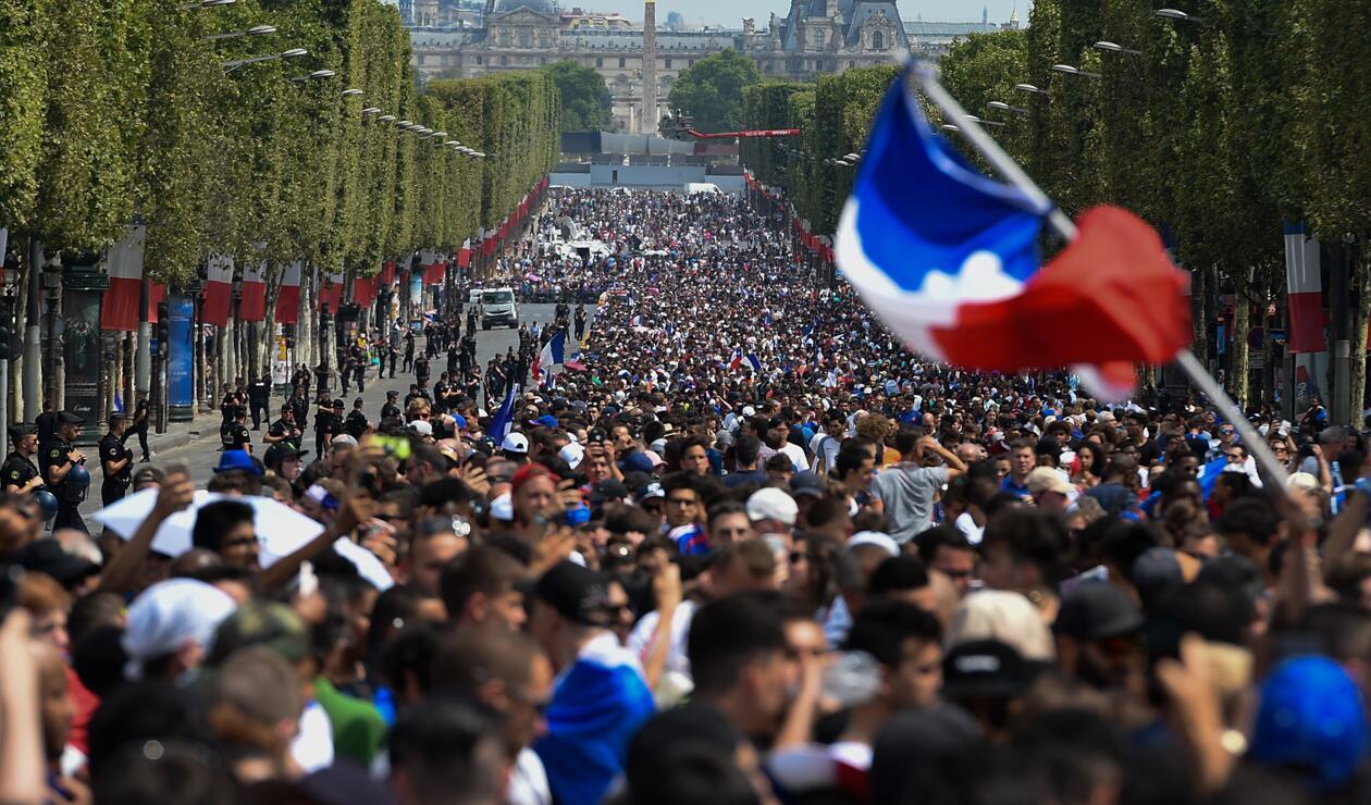 jugadores Francia París Copa Mundo 2