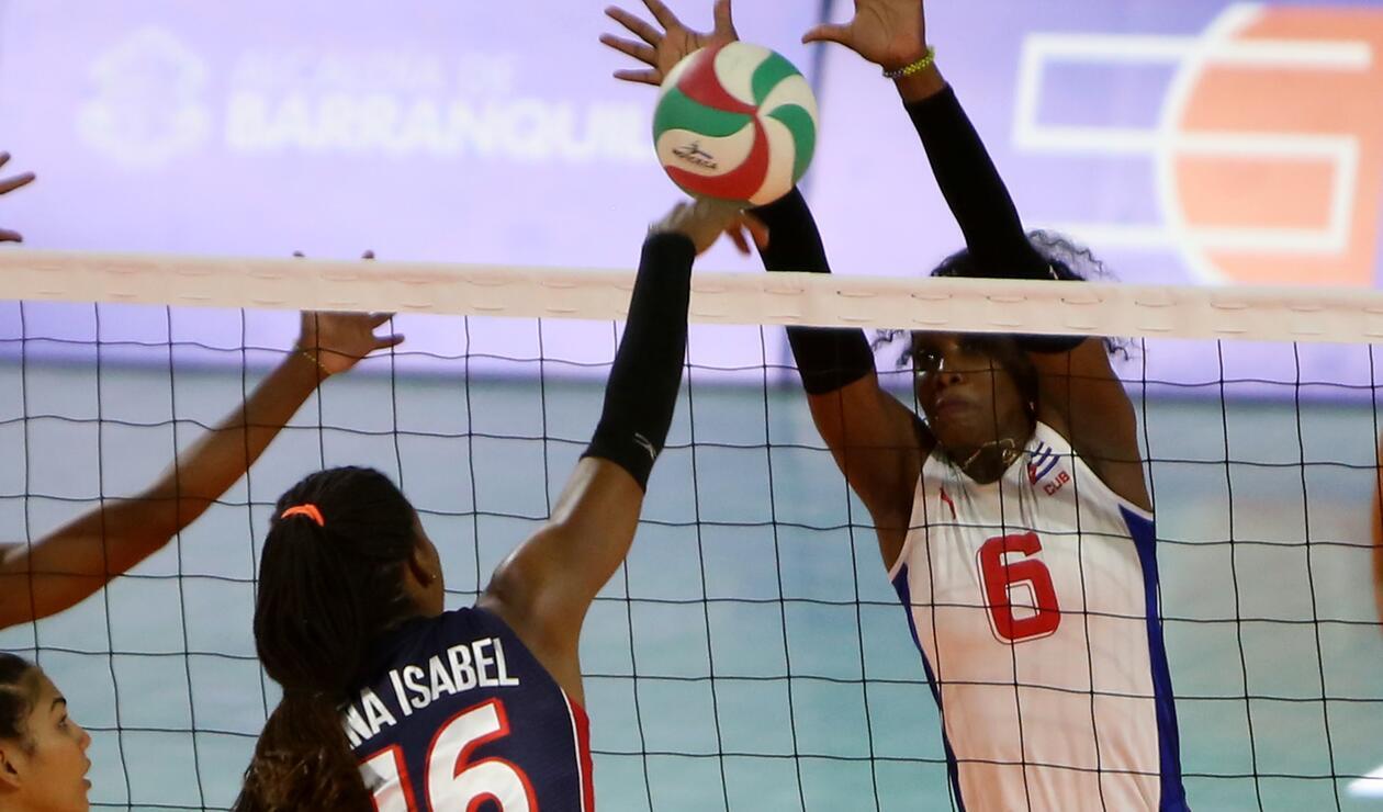 Volleyball: Cuba vs Rep. Dominicana