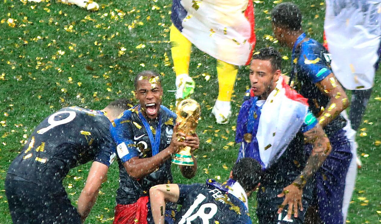 Francia, campeona por segunda vez en su historia del Mundial