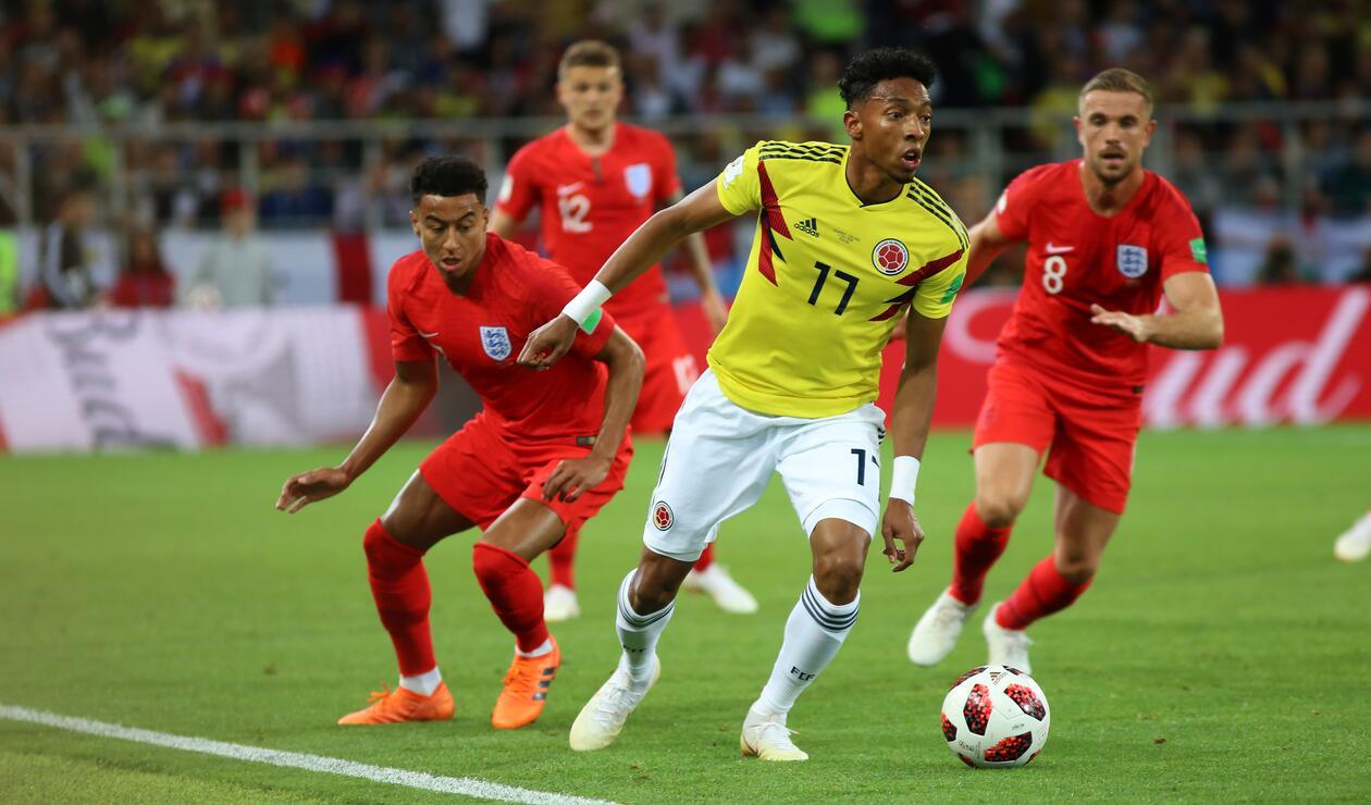 Colombia Inglaterra Rusia 2018 6