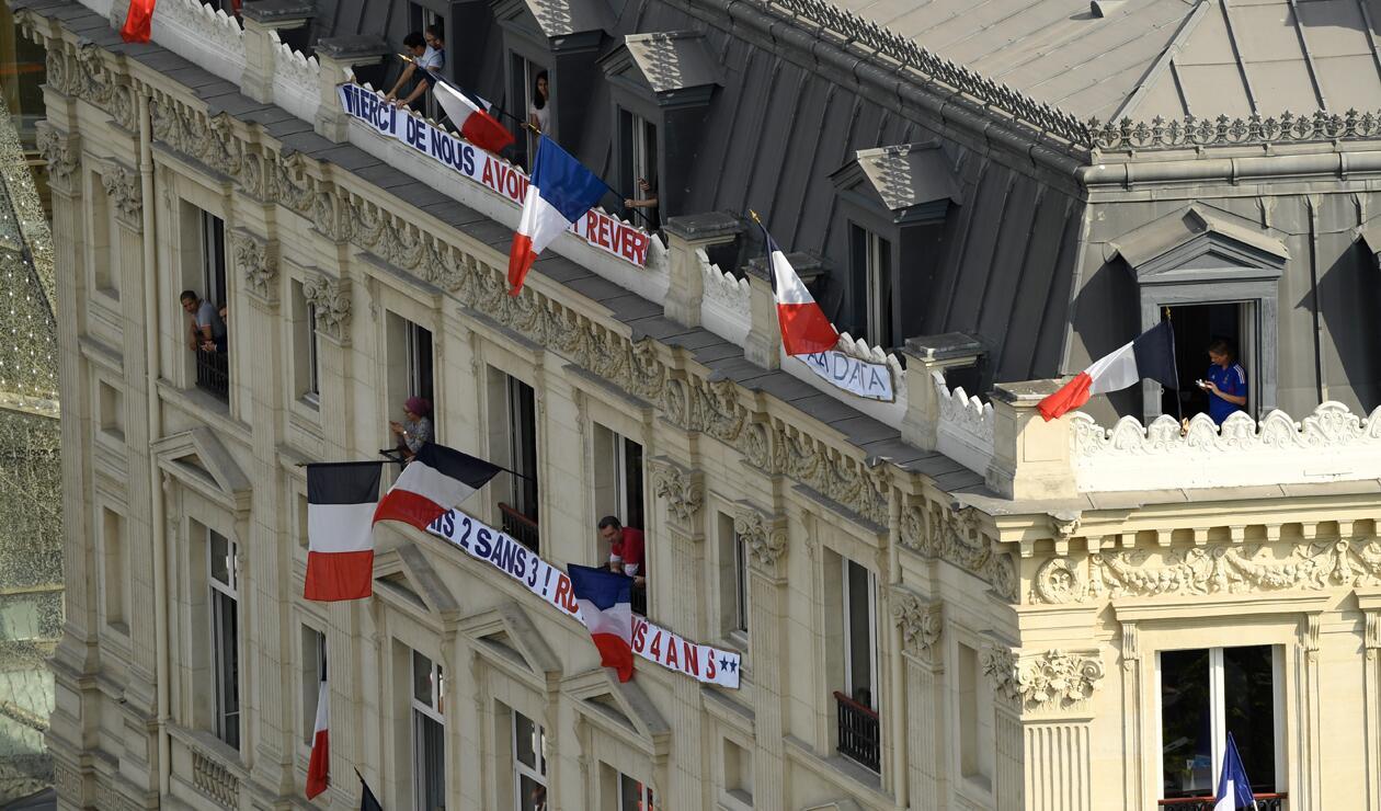 jugadores Francia París Copa Mundo 6